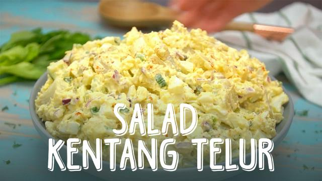 Salad Kentang Telur