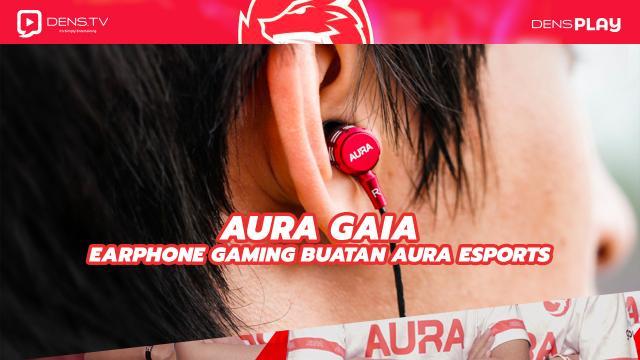 Aura Gaia Earphone Gaming Buatan Aura Esports