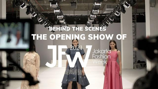 Behind The Scenes The Opening Show Of JFW 2021