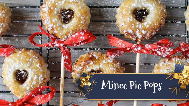 Mince Pie Pops