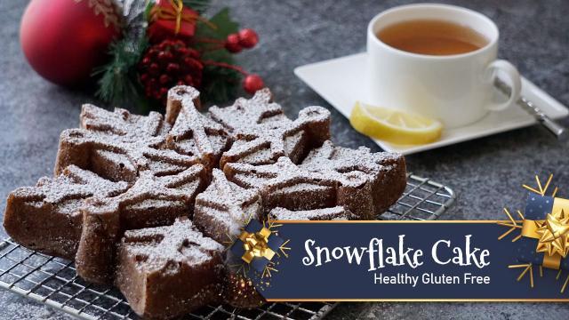 Snowflake Cake - Healthy Gluten Free
