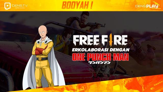 Free Fire Berkolaborasi Dengan One punch Man