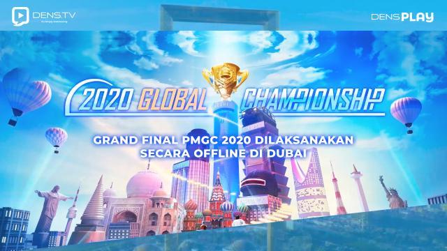 Grand Final PMGC 2020 Dilaksanakan Secara Offline Di Dubai