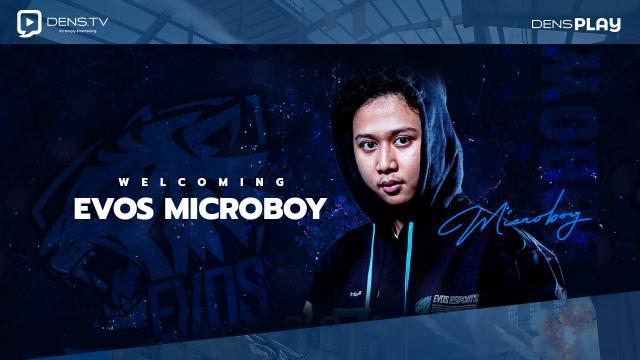 Welcoming EVOS Microboy  !