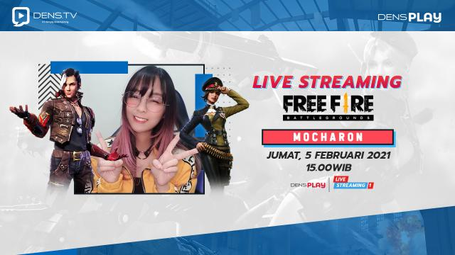 Saksikan Live Streaming Mabar with Mocharon di DensPlay Channel !
