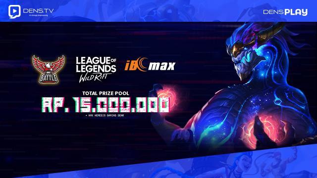 Daftar Sekarang Indonesian Battle Championship League of Legends WR Maret 2021