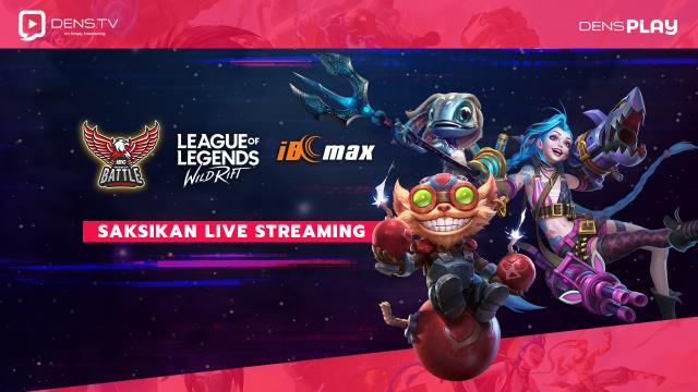 Saksikan Live Streaming Indonesia Battle Championship League of Legends Wild Rift