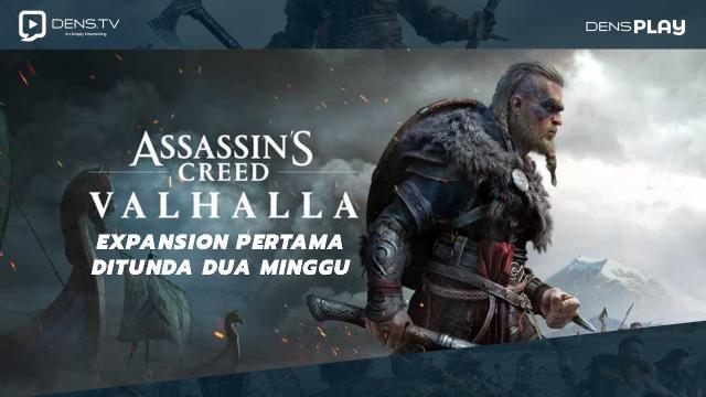 Expansion Pertama Assasin's Creed Valhalla Ditunda Dua Minggu