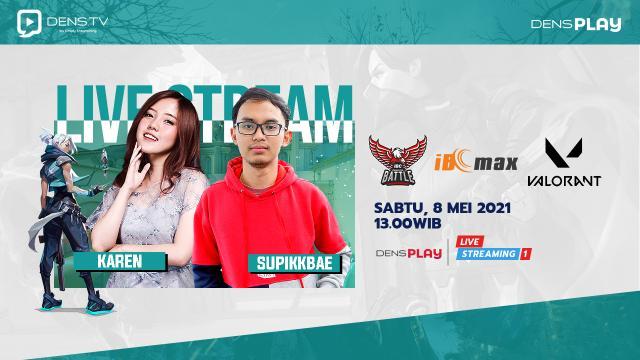 Saksikan Live Streaming Indonesia Battle Championship Valorant Series 5