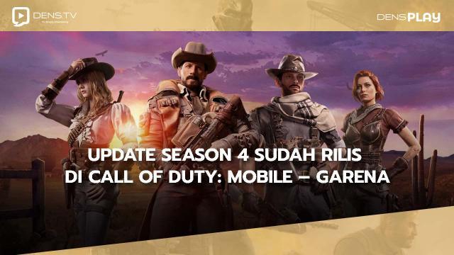 Update Season 4 Sudah Rilis di Call of Duty: Mobile – Garena