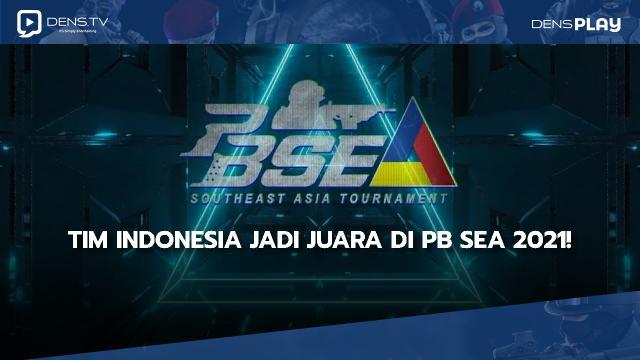 Tim Indonesia Jadi Juara di PB SEA 2021!