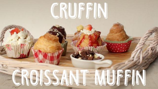 Cruffin Croissant Muffin