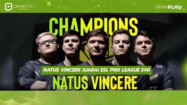 NAVI Juarai ESL Pro League S14