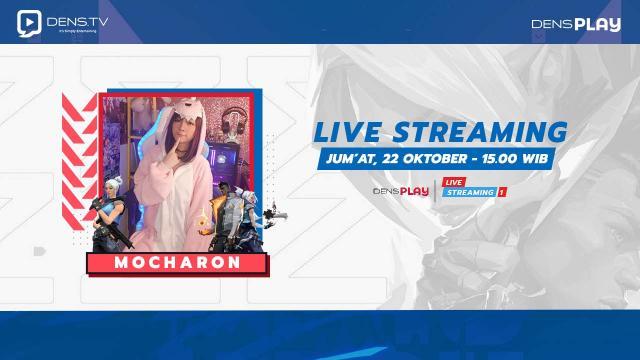 Saksikan Live streaming Valorant Bersama Mocharon