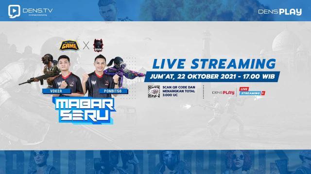 Walk Trough Game Mabar Seru PUBG M Bersama BOOM Esports  !